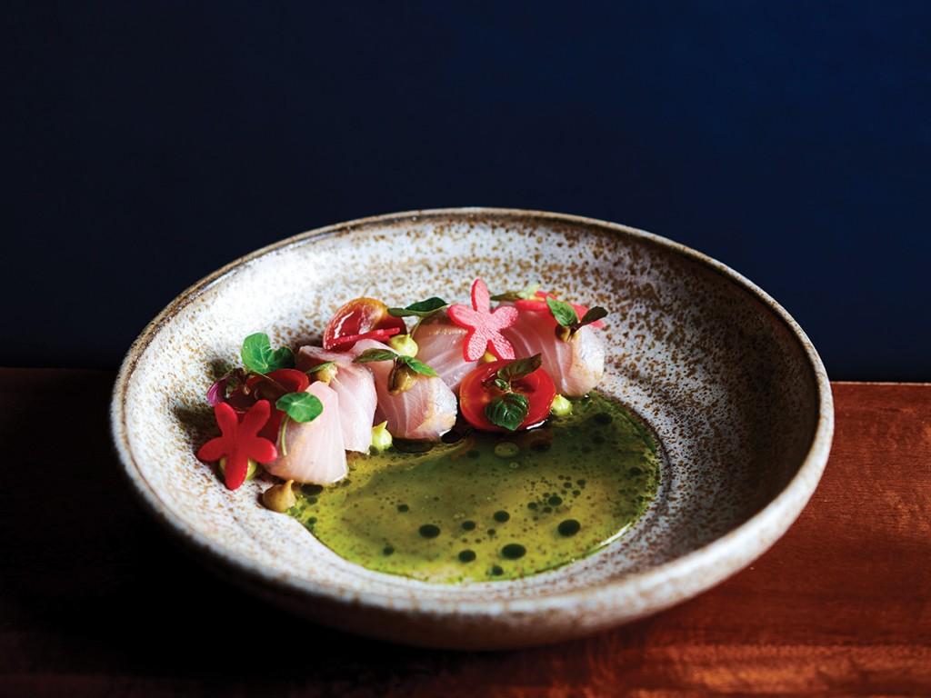 Senia Kampachi And Tomatillo Best Restaurants In Hawaii