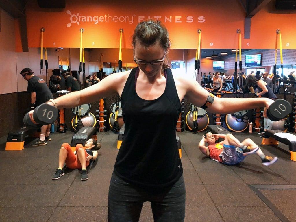 Open For Fitness Orangetheory Kakaako Workout Class Hawaii Weights Cover