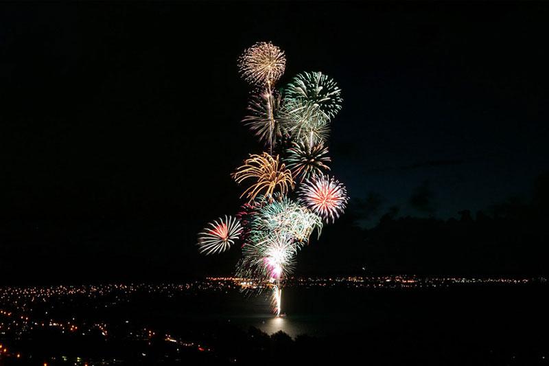 Kailua Fireworks