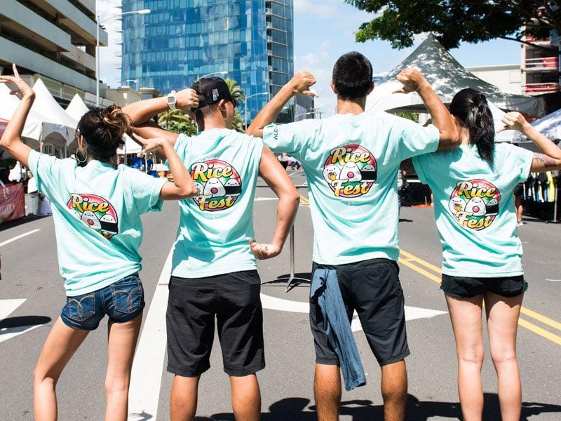Rice Fest Shirts