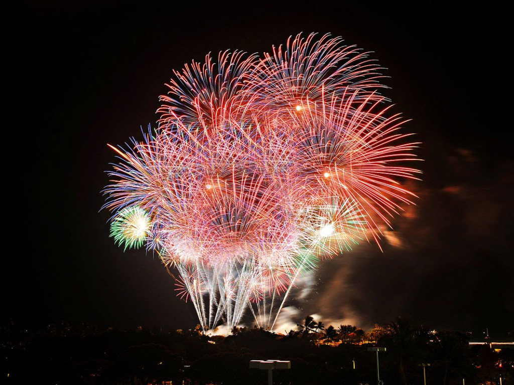 New Ala Moana Center July 4 Fireworks 2019