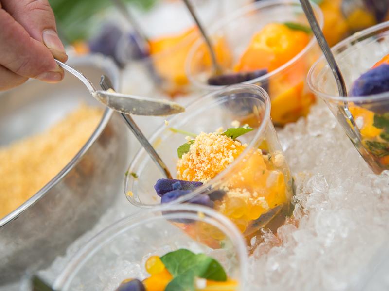 Mangoes Splash Food