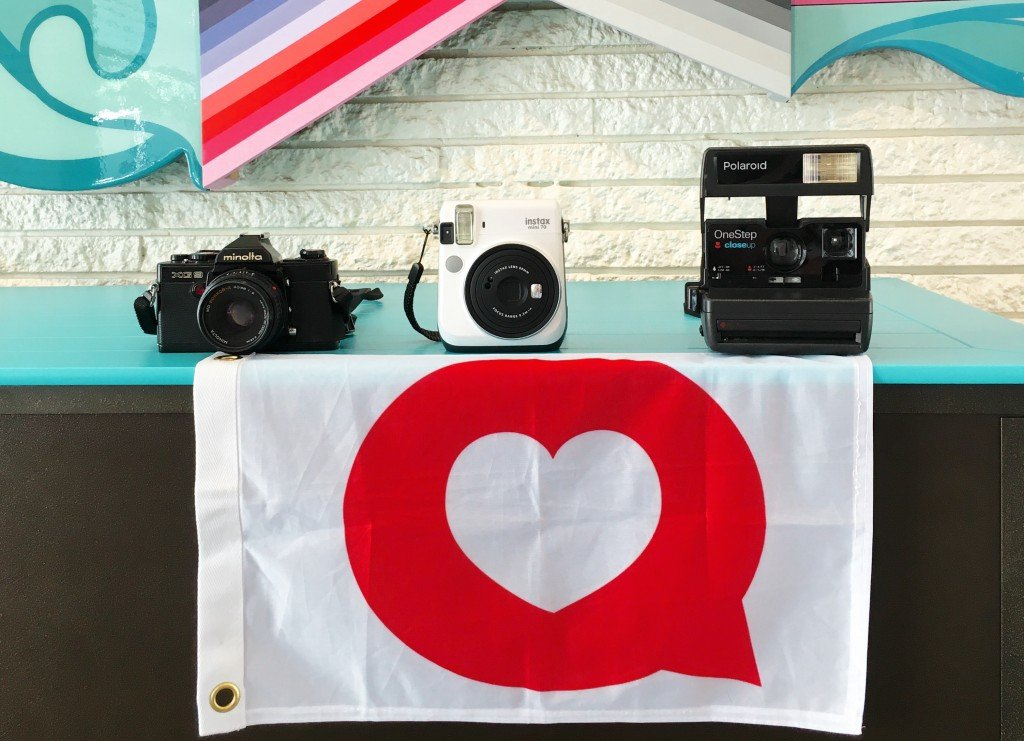 Camera Instagram Flag