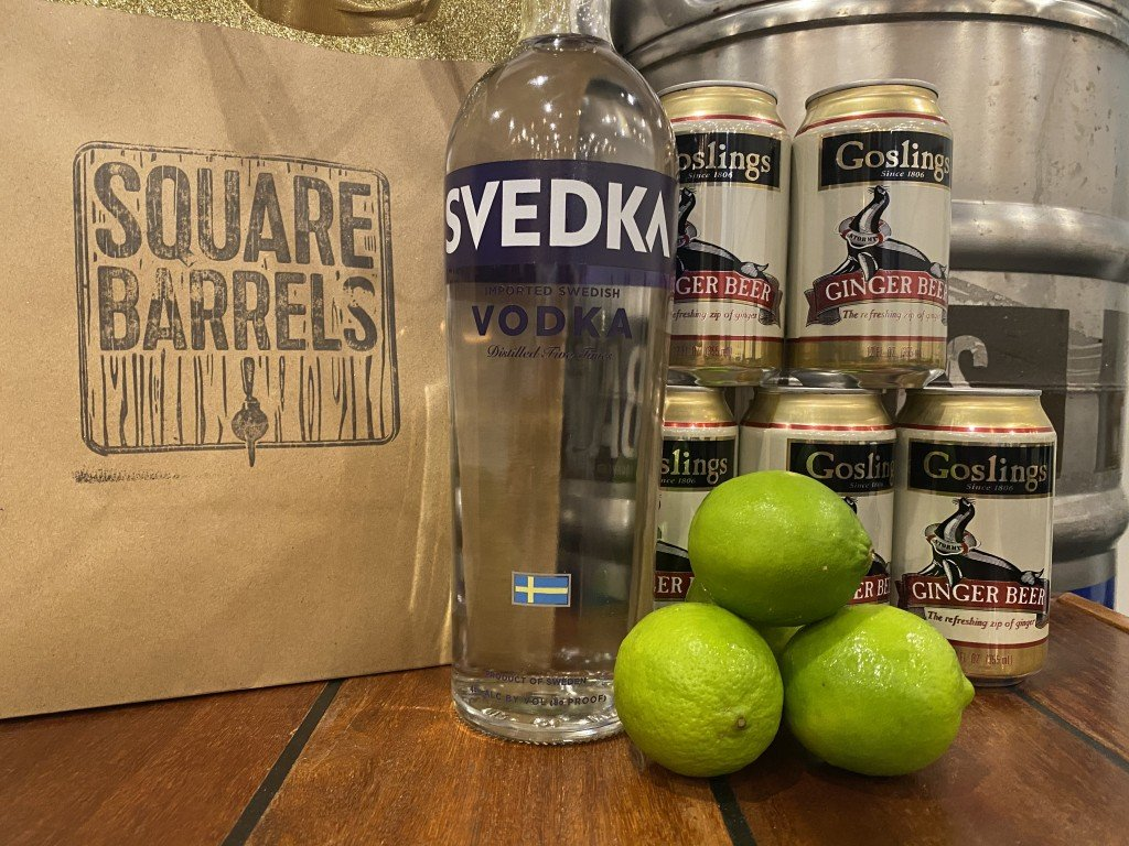 Square Barrels Moscow Mule Kit