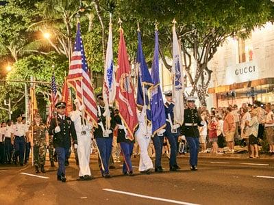 Pearl Harbor Parade Military
