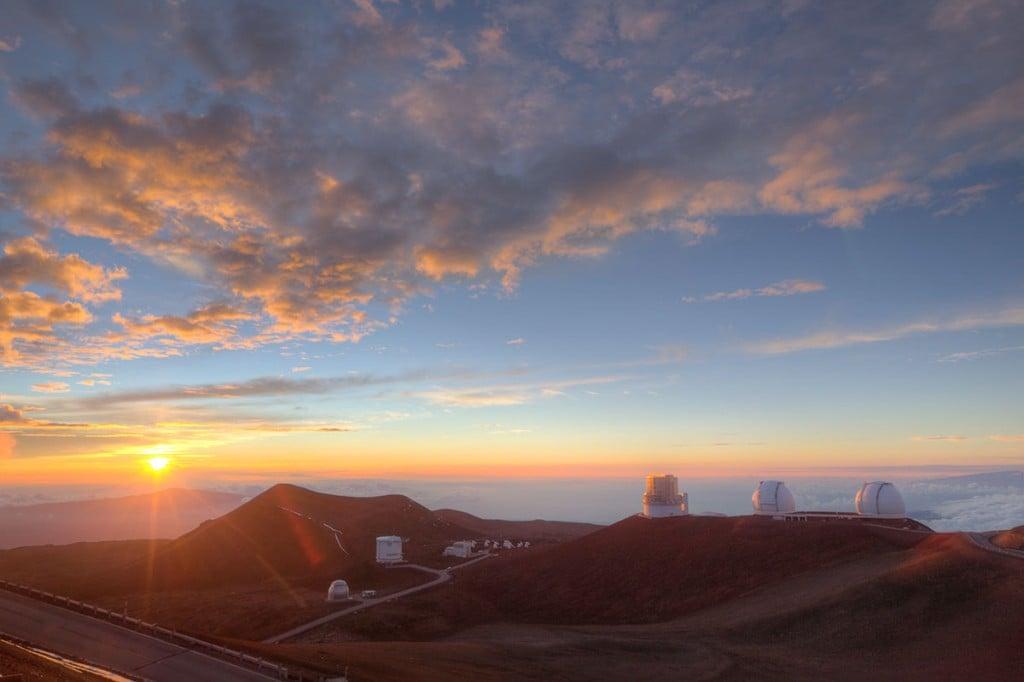 Maunakea Summit Telescopes