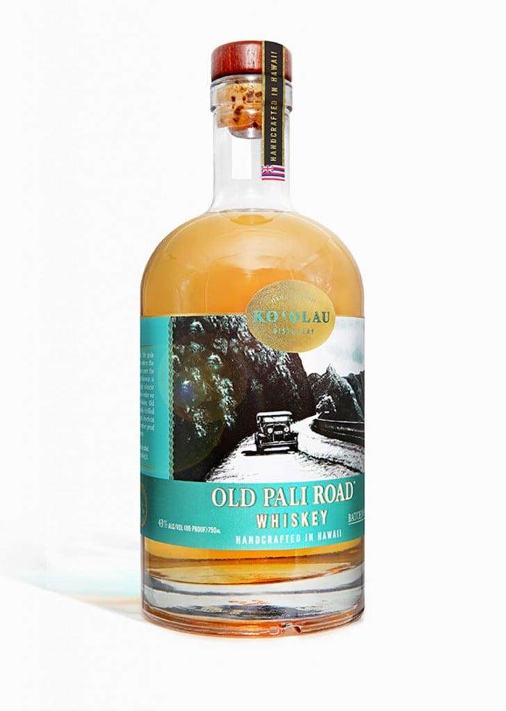 Koolau Distillery Old Pali Whiskey