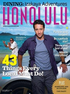 hawaii five-0 cover of honolulu magazine