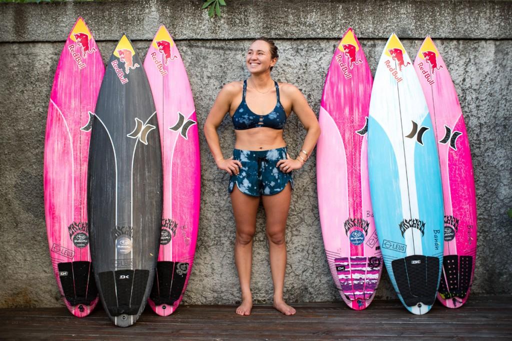 Riss Carissa Moore Film Surfboards