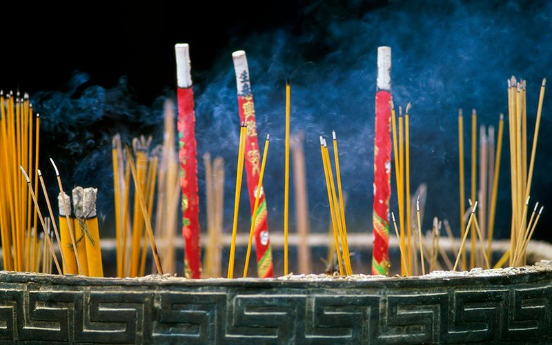 Chinese New Year incense