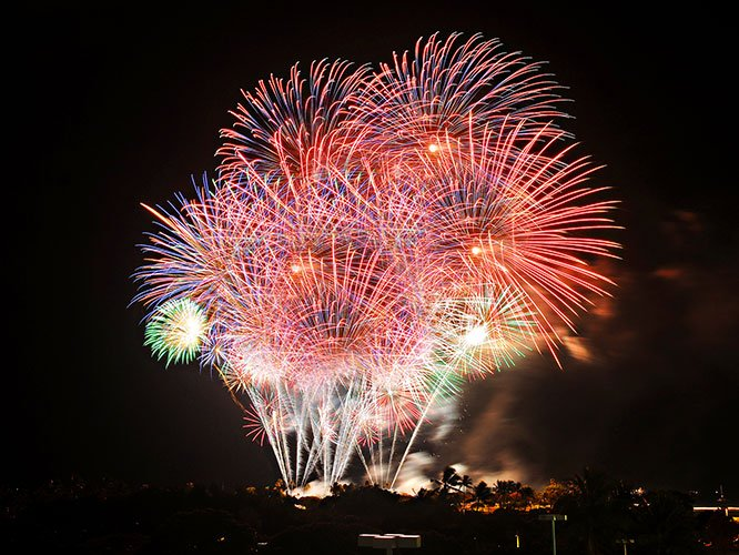 Fireworks Splash