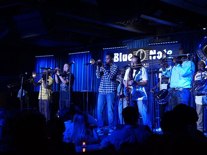Blue Note Splash