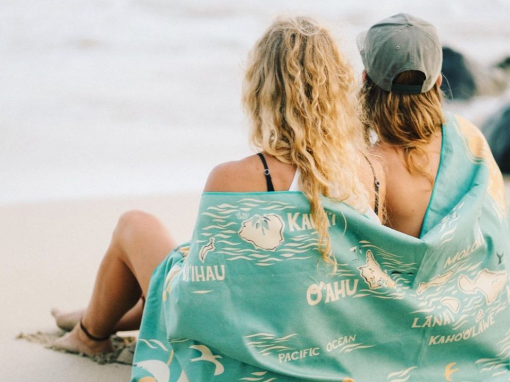 The Beach Towels From This Hawaii Surfer Brand Are Perfect Christmas Gifts For The Outdoor Adventurers In Your Life Cover