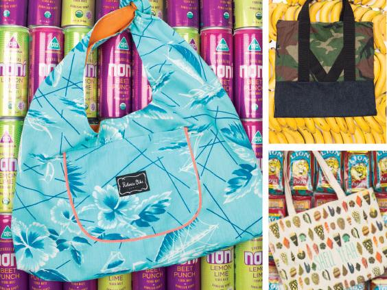 Splash Tote Bags