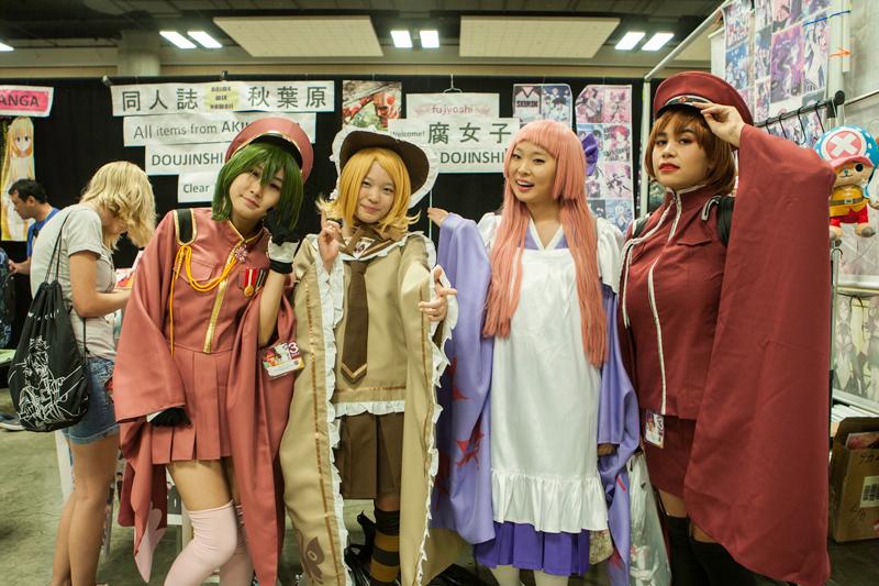 Kawaii Kon Manga Girls