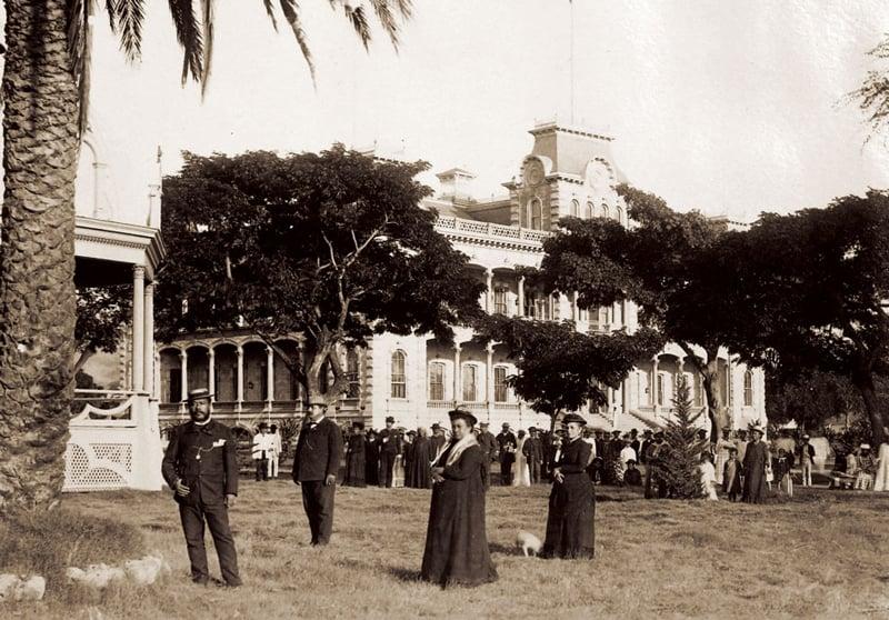Iolani Palace 1888