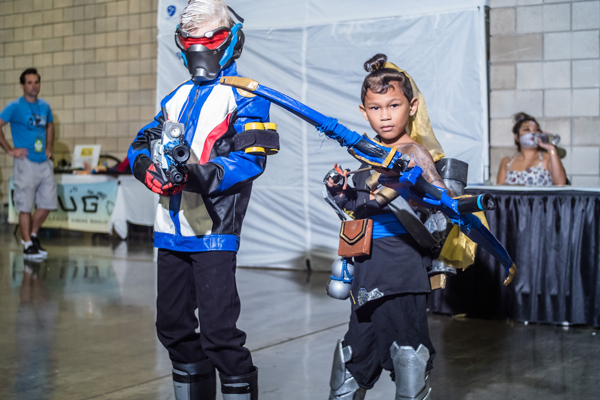 Amazing Comic Con Hawaii Cosplay Children