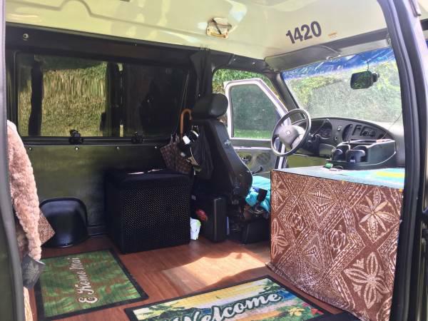Real Estate Van Inside