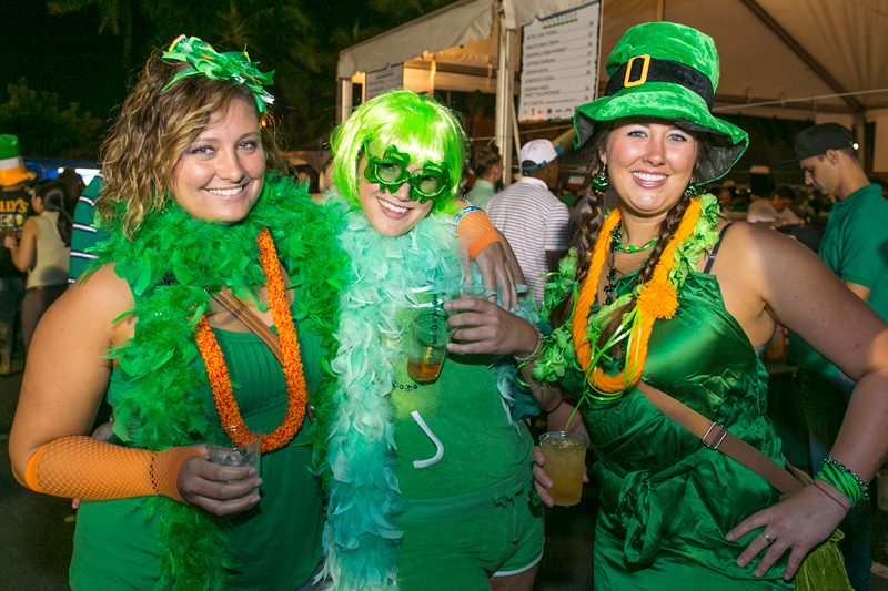 St Patricks Day Block Party Wear Green