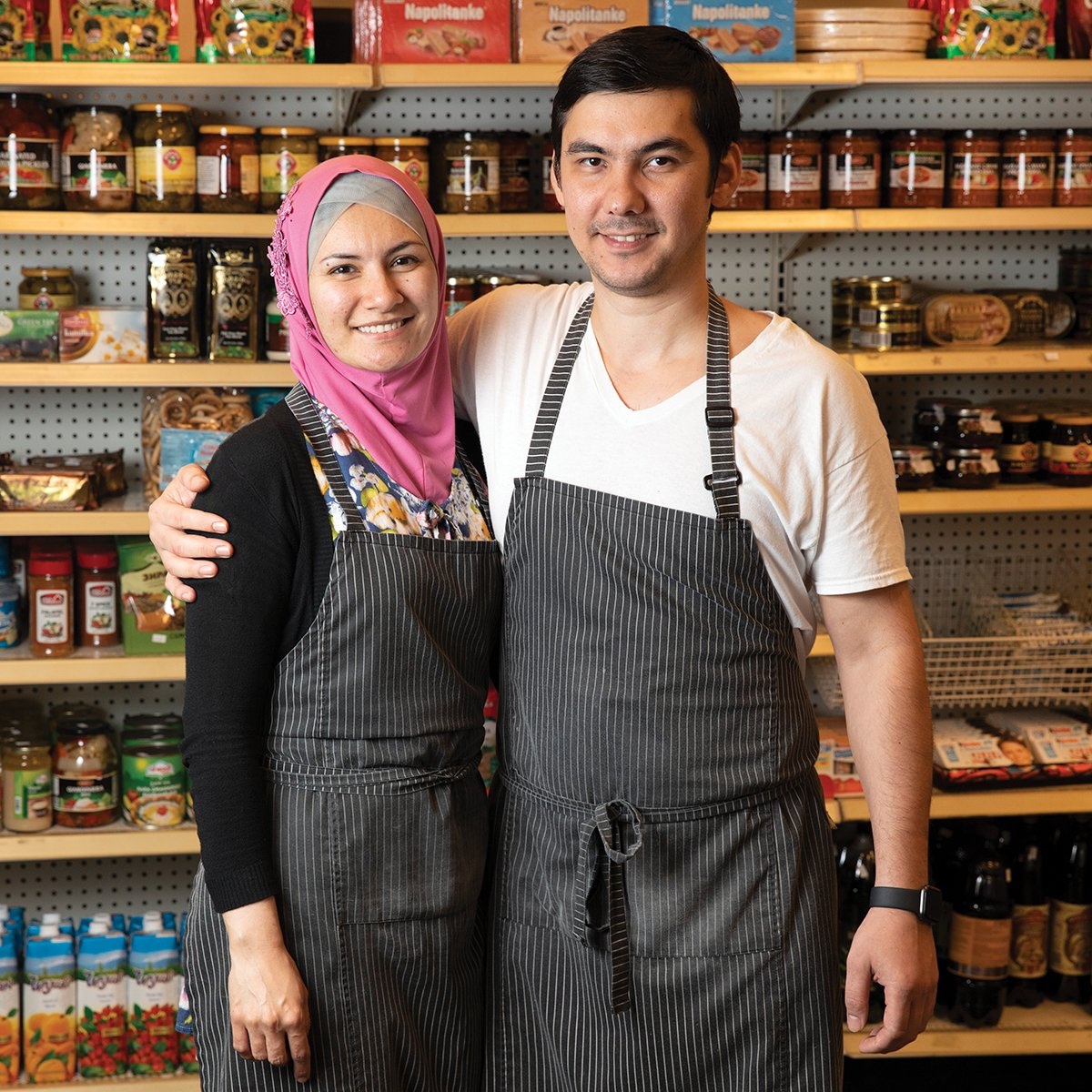 Silk Road Cafe owners