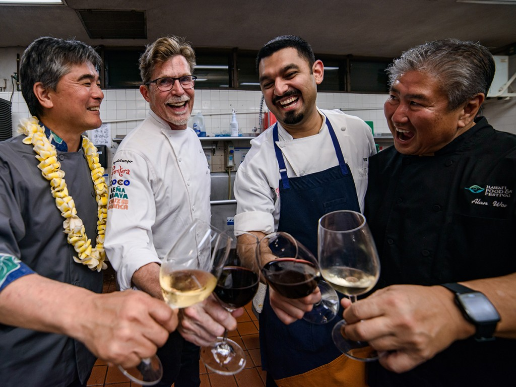 Hawaii Food And Wine Festival Chefs Cheers Web