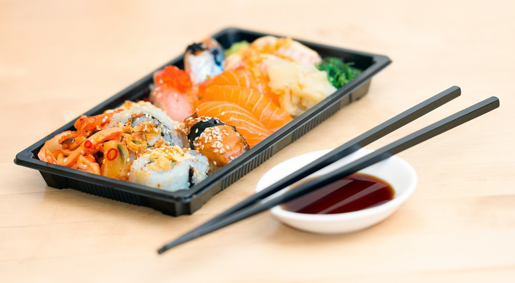Close Up Photo Of Sushi Served On Table 248444