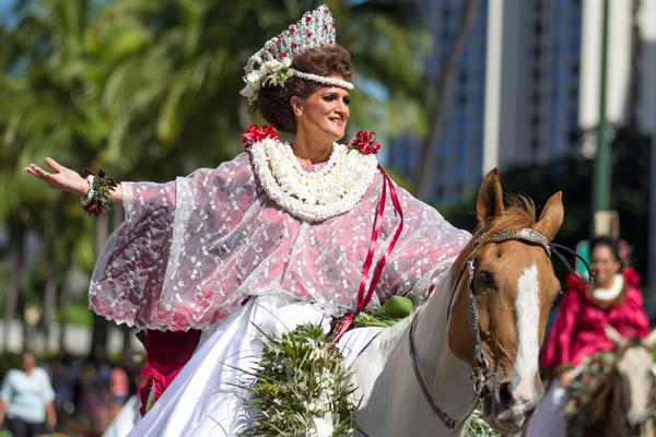 2016 Aloha Festivals Floral Parade Pau Queen Berna Carvalho Email