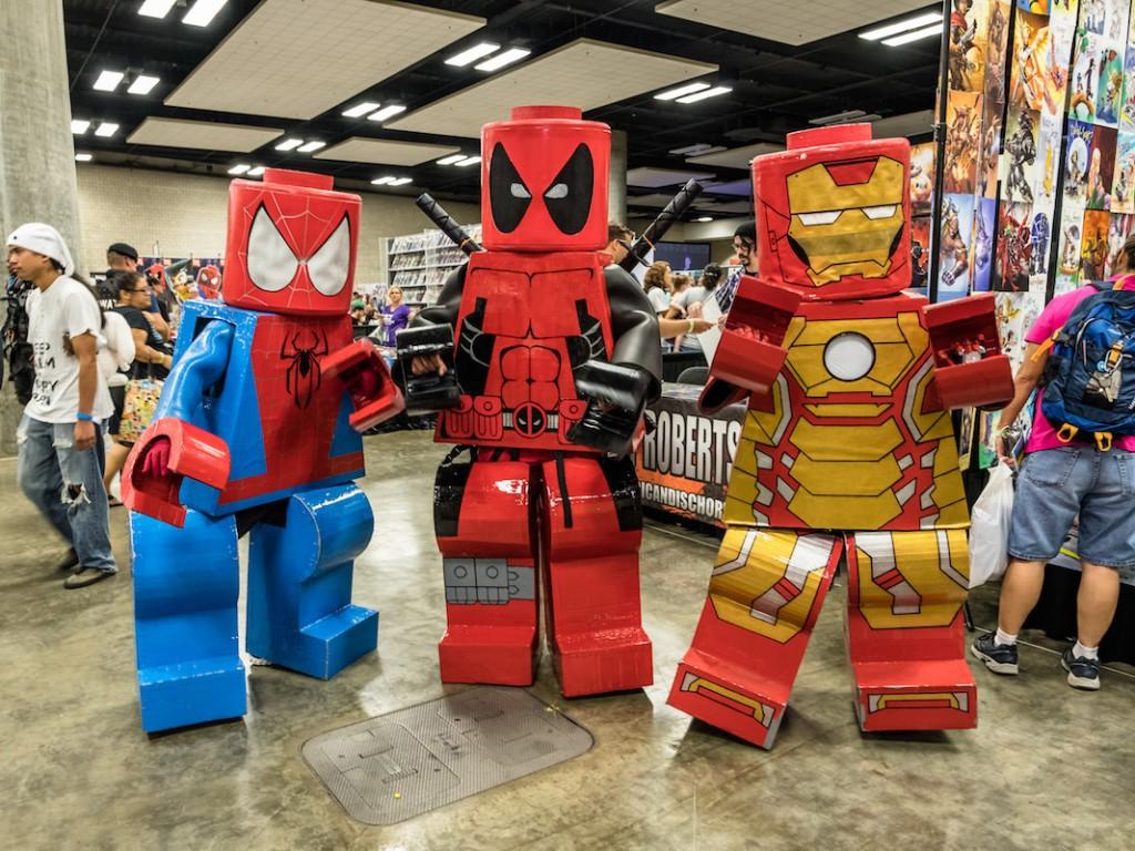 Comic Con Honolulu Lego Super Heroes