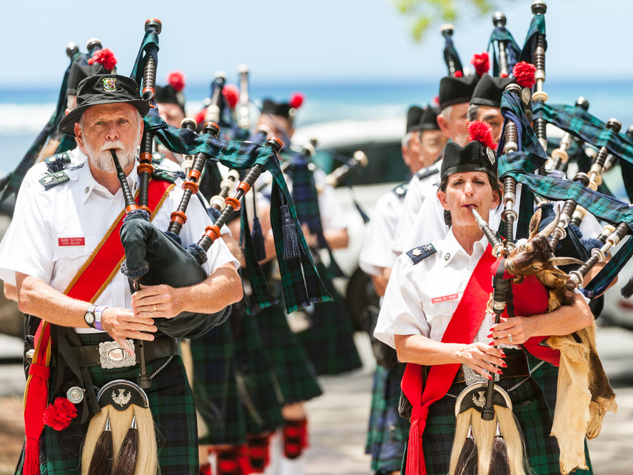 Hawaiian Scottish Festival And Highland Games Cover