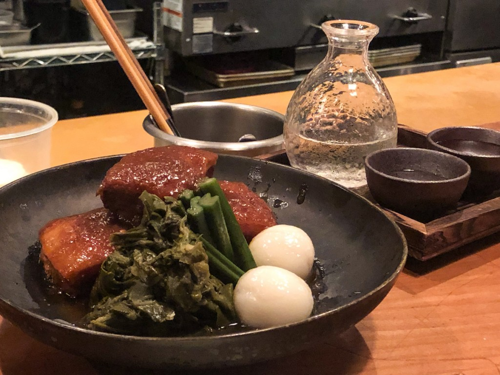 Pork Belly And Sake
