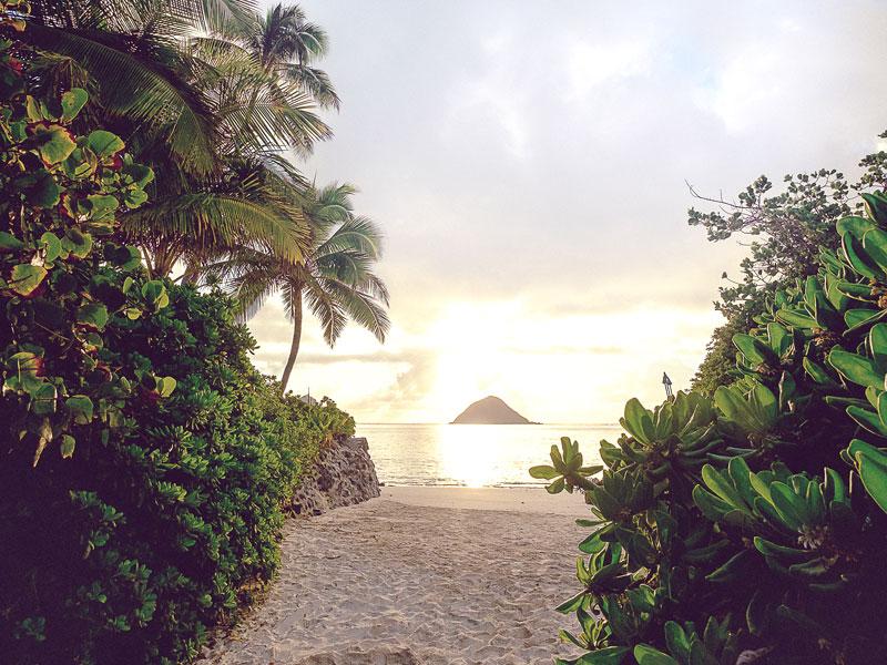 Windward Oahu Lanikai Sunrise