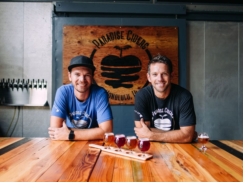 Paradise Cider Brewers Honolulu