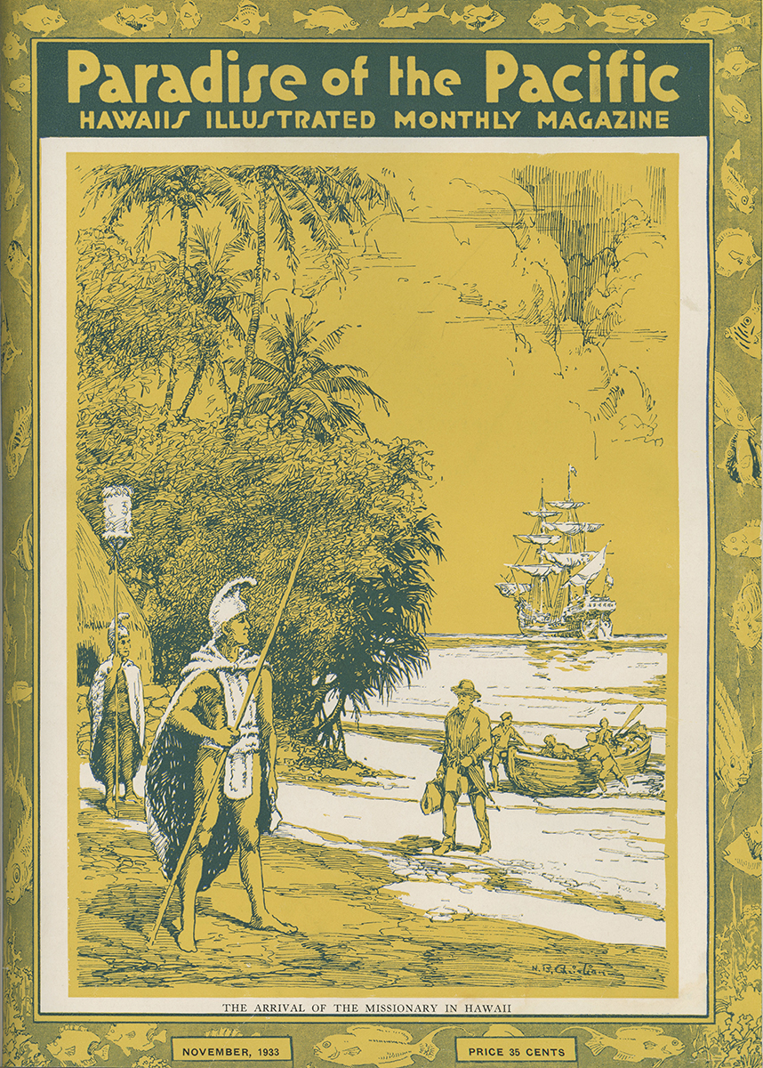Paradise of the Pacific 1933 Cover