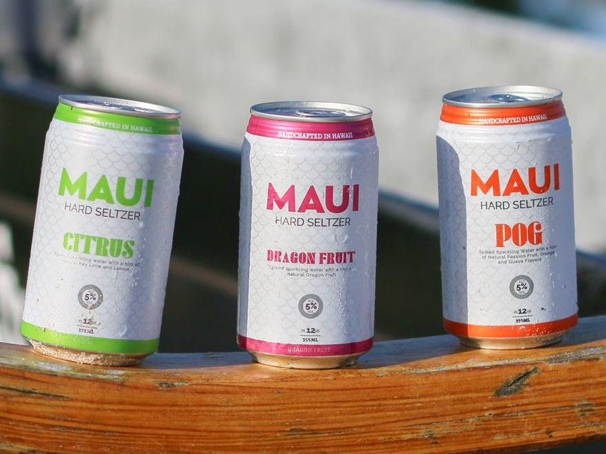 Maui Hard Seltzer Cover