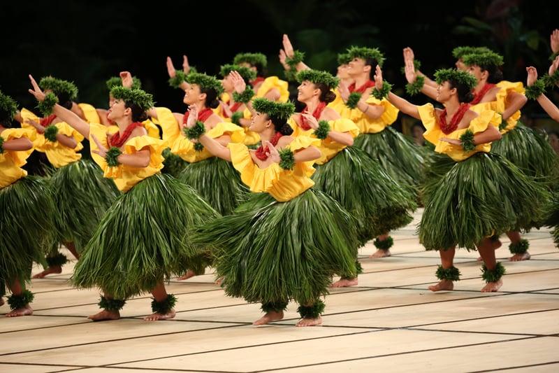 Merrie Monarch Grass Skirts