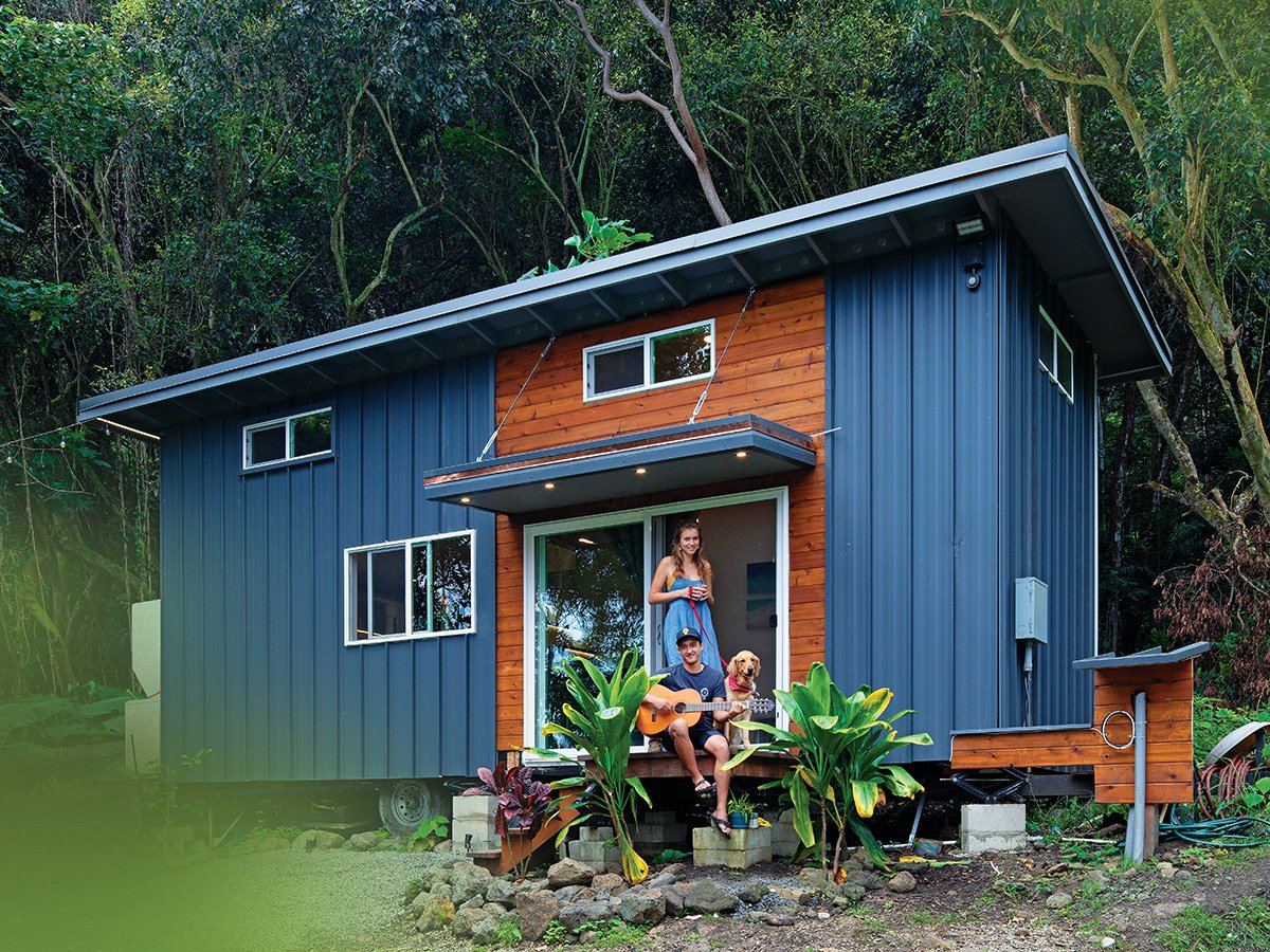 Tiny home on the Windward Side