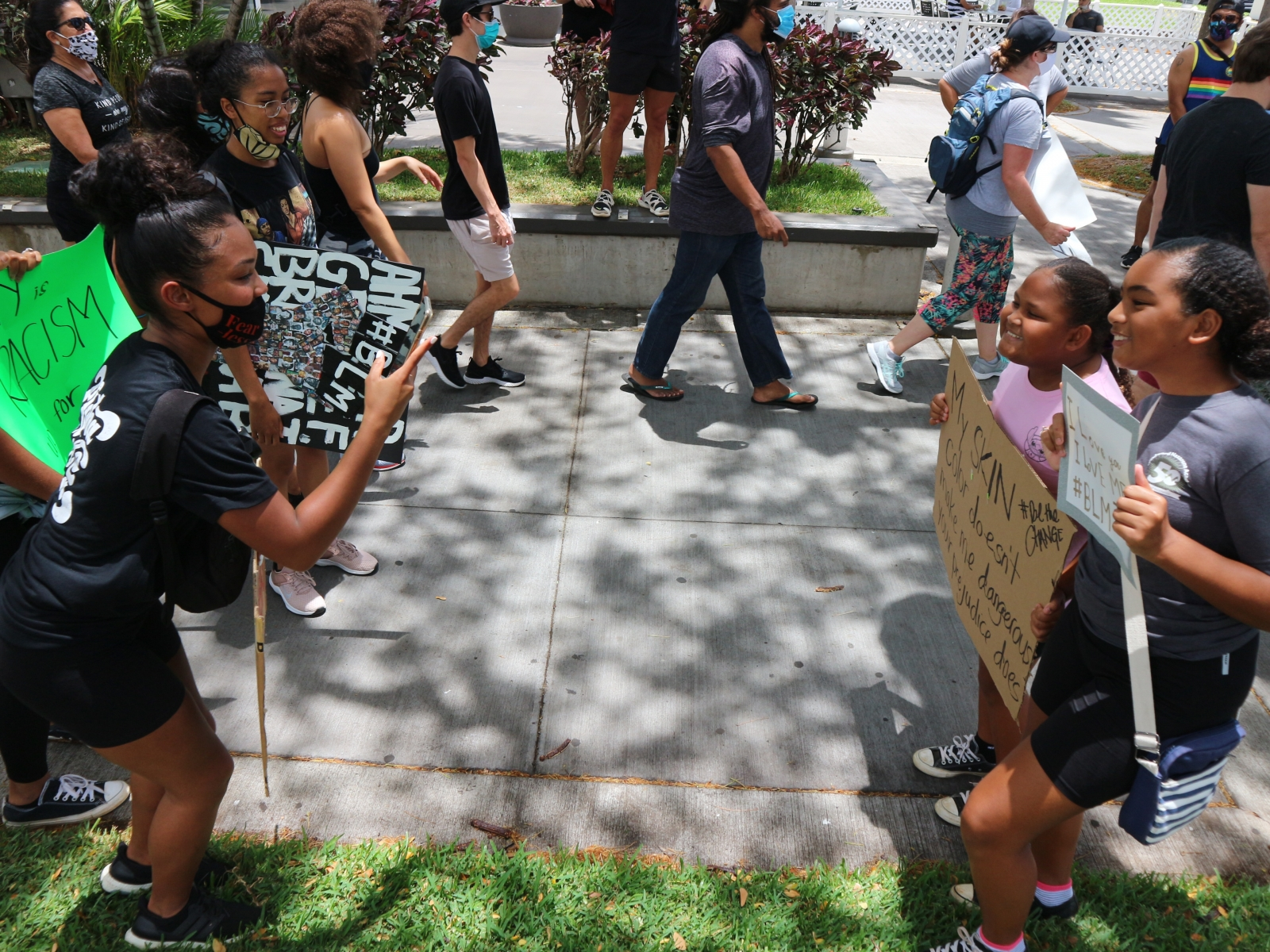 black lives matter protests in honolulu hawaii  black lives matter protests in honolulu hawaii