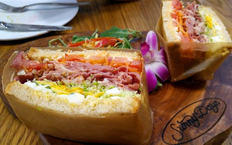 Sunny Days Sandwich