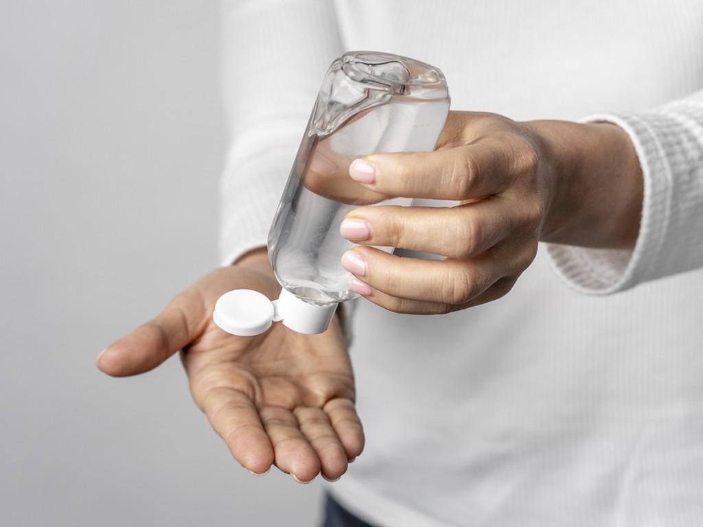 Tracking The Coronavirus Hand Sanitizer