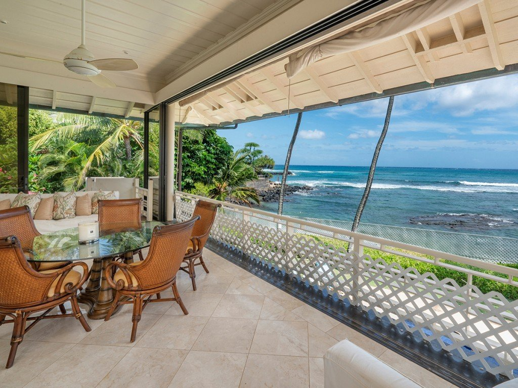 Jim Nabors Diamond Head Home Lanai Cover