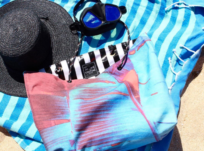 Stylelist Surf Couture Beach Bag