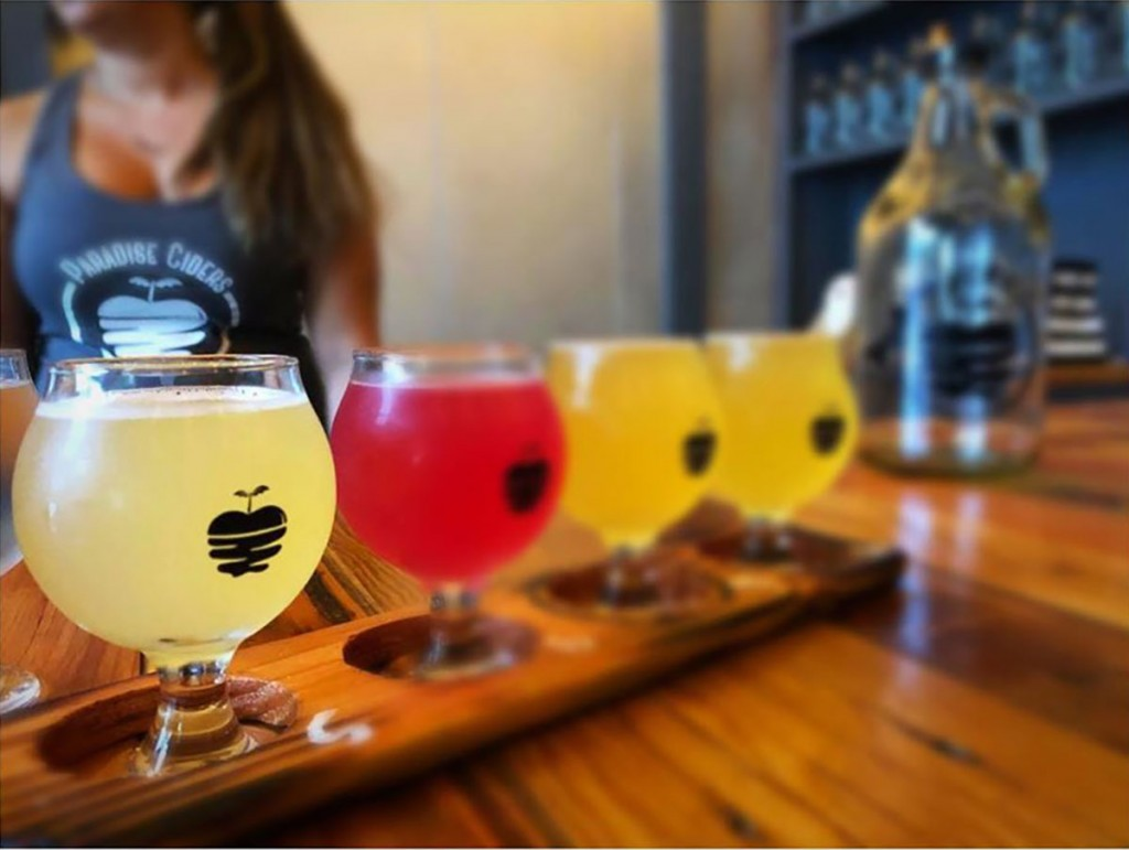 Paradise Ciders Flight