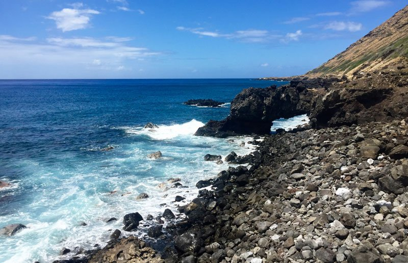 Hike Of The Month Kaena Point Arch