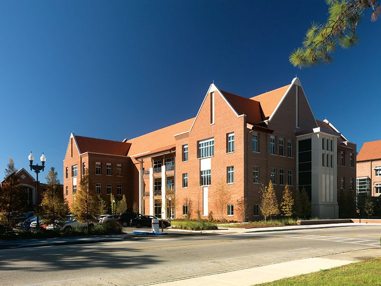 Uf Hough Hall Exterior South Side Farther Awaya