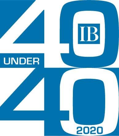 Ib 40u40 Logo 2020 Onecolor