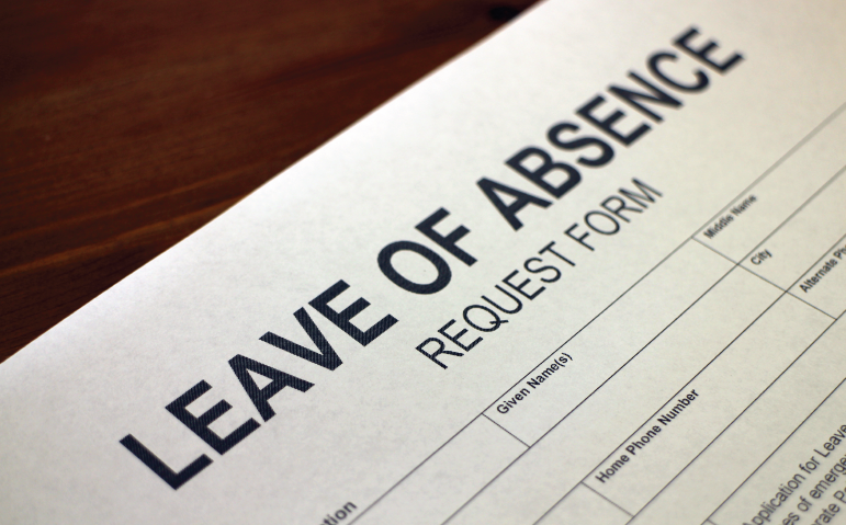 Feature Unpaid Leave Panel