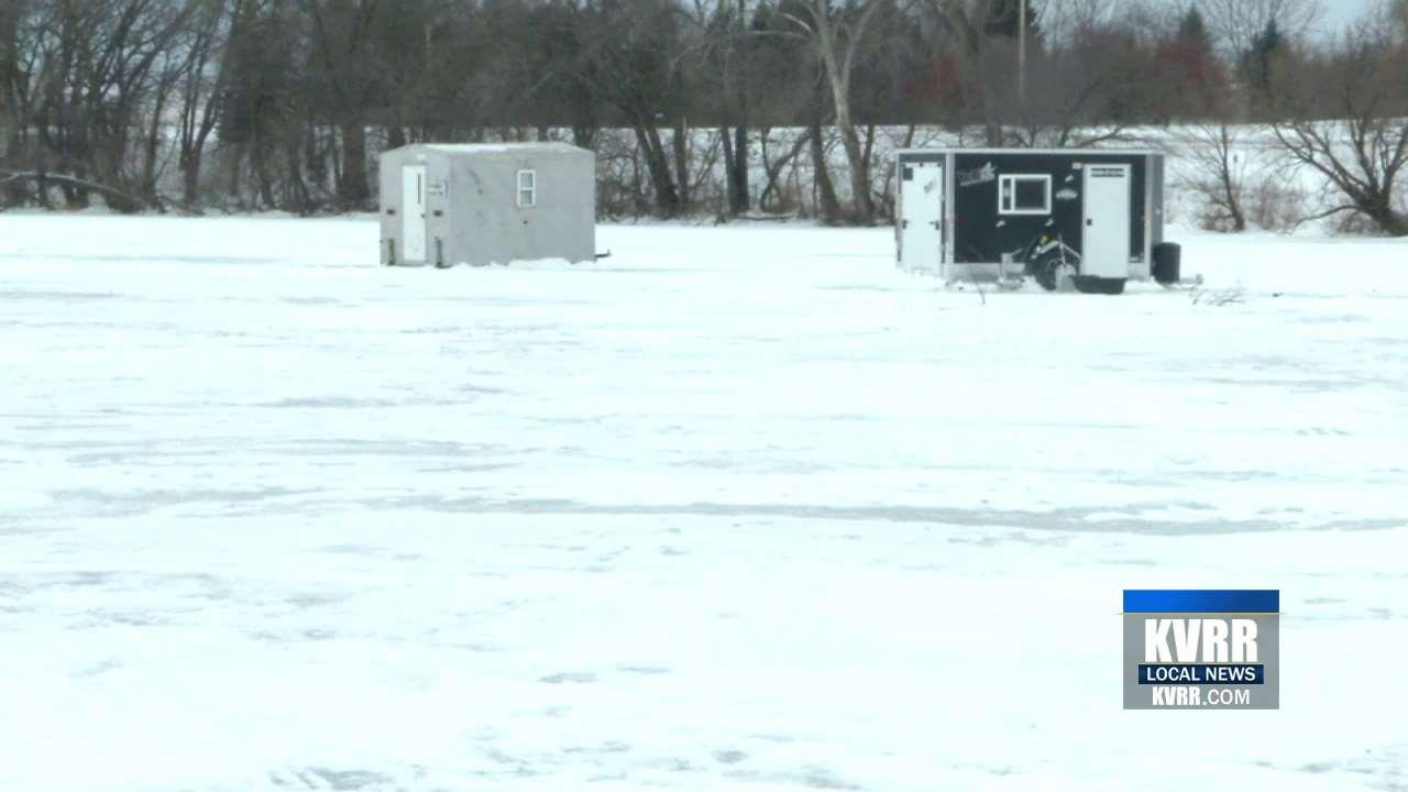 Minnesota anglers encouraged to remove ice houses kvrr for Mn ice fishing show