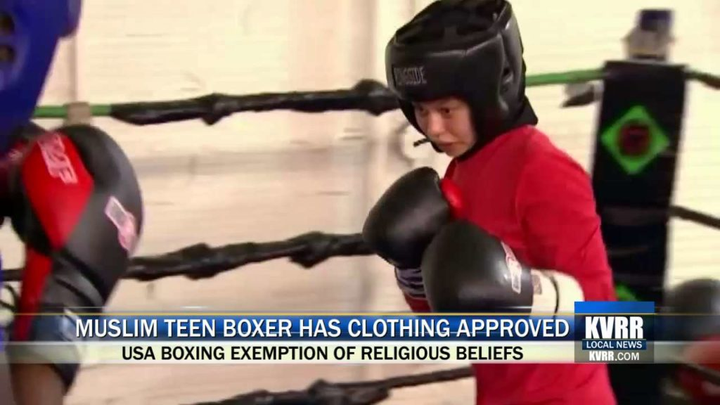 Muslim teen Amaiya Zafar wins right to box competitively in hijab