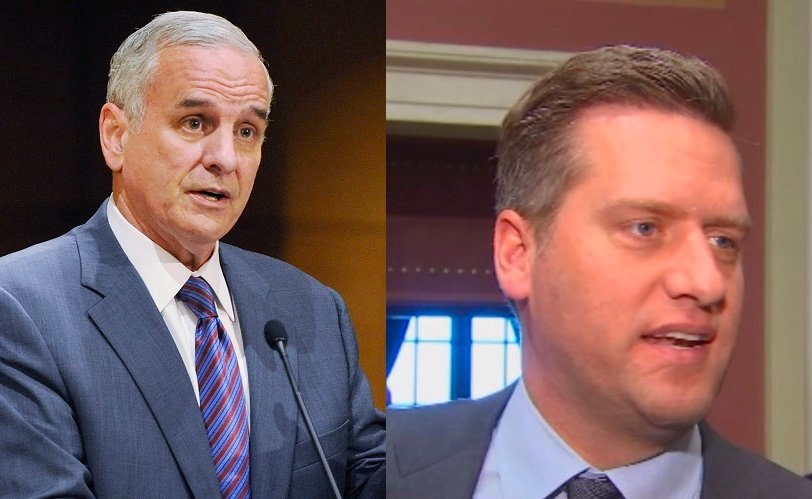 GOP backs away from negotiating to push Dayton on budget
