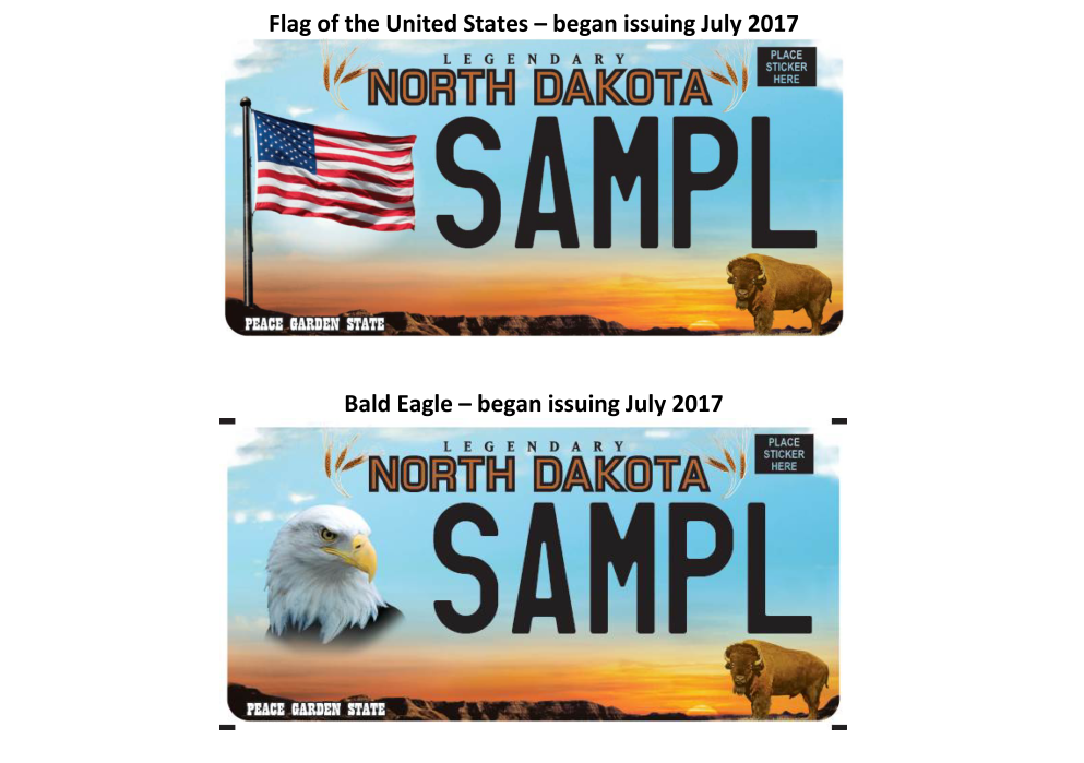 NDDOT Offers New Patriotic Plates - KVRR Local News